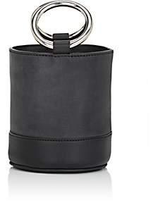 Simon Miller Women's Bonsai Leather Bucket Bag - Black