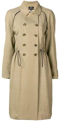 A.P.C. Jackie trench coat