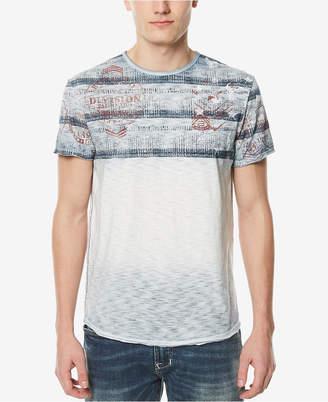 Buffalo David Bitton Men's Multi-Print T-Shirt
