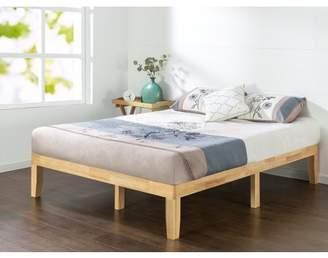 "Zinus Moiz 14"" Wood Platform Bed, King"