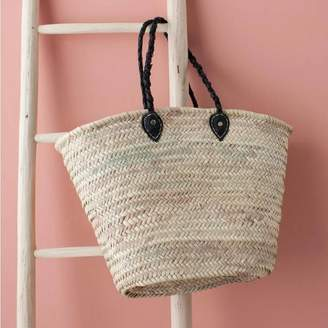 Bohemia French Shopping Basket