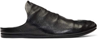 Marsèll Black Strapiatta Open Back Loafers