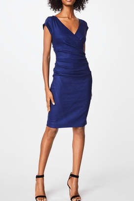 Nicole Miller Cap Sleeve Dress