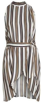 Leith Sleeveless Belted Tunic