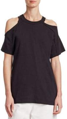 TRE by Natalie Ratabesi Cold-Shoulder Tee
