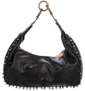 Chloé Embellished Leather Hobo