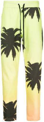 Ports V Jamaica print track trousers