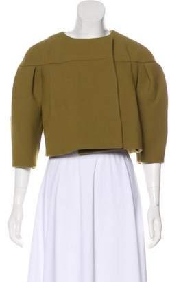 Chloé Wool Cropped Blazer