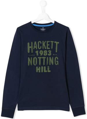 Hackett (ハケット) - Hackett Kids TEEN printed top