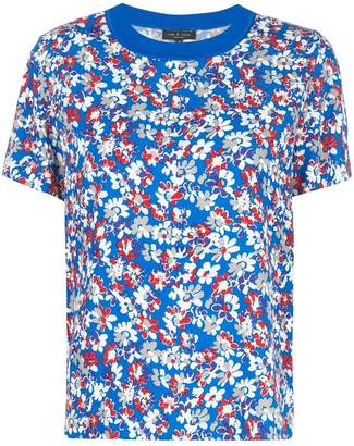 Rag & Bone floral pattern T-shirt
