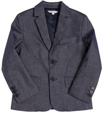 Little Marc Jacobs Cotton & Linen Blend Twill Jacket