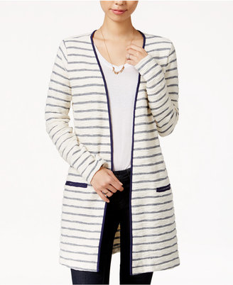Maison Jules Striped Duster Cardigan, Only at Macy's $49.50 thestylecure.com