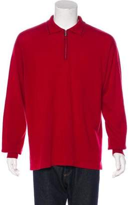 Loro Piana Cashmere Zip Sweater