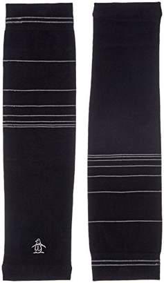 Munsingwear (マンシングウェア) - (マンシングウェア) Munsingwear(マンシングウェア) アームカバー MGBLJD51 BK00 BK00(ブラック) F