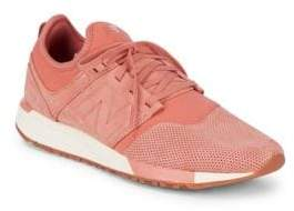 New Balance Rose Mesh Copper Low-Top Sneakers