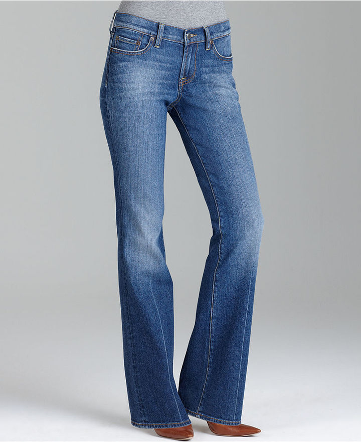 Lucky Brand Jeans, Leslie Sweet N Low Boot Cut Jeans, Ol Zest Wash