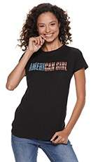 "Juniors' Tom Petty & The Heartbreakers ""American Girl"" Tee"