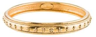 Chanel Textured Bangle