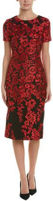 Carmen Marc Valvo Sheath Dress