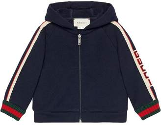 Gucci Kids Baby sweatshirt with jacquard trim