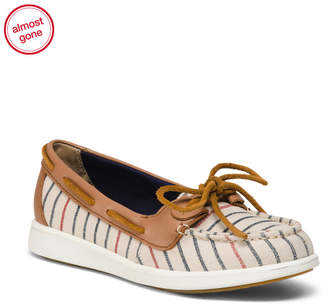 Comfort Canvas Boat Shoes