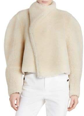 Isabel Marant Acacia Reversible Shearling& Suede Jacket