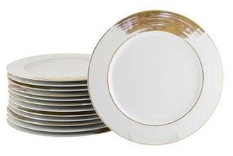 Limoges Set of 13 Poc a Poc Shanghai Salad Plates