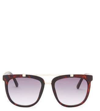Kenneth Cole Reaction 53mm Matte Square Sunglasses