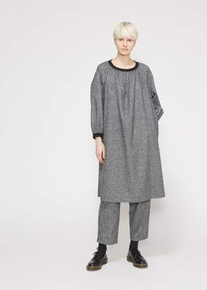 Comme des Garcons Long Sleeve Gathered Neck Dress