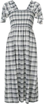 The Great Gimlet checked midi dress