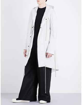 Imbottito shell parka coat