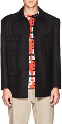 Gosha Rubchinskiy Men's Twill Button-Front Jacket