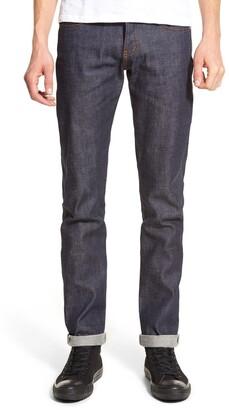 Naked & Famous Denim Super Skinny Guy Skinny Fit Selvedge Jeans