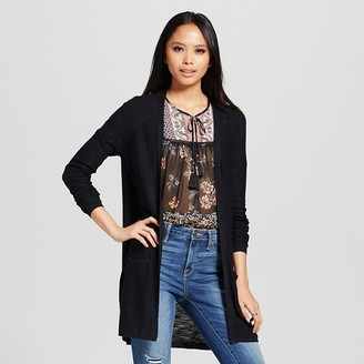 Mossimo Women's Open Cardigan Sweater - Mossimo $24.99 thestylecure.com
