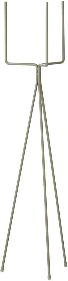 ferm living - Plant Stand, 15 x 65 cm, groß, Dusty green