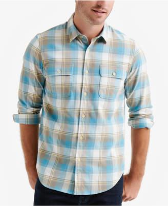 Lucky Brand Men Plaid Workwear Shirt