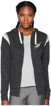 Nike Gym Vintage Hoodie Full Zip HBR Women's Sweatshirt