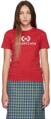 Balenciaga Red BB T-Shirt