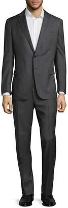 Ralph Lauren Men's Textured Window Wool Suit