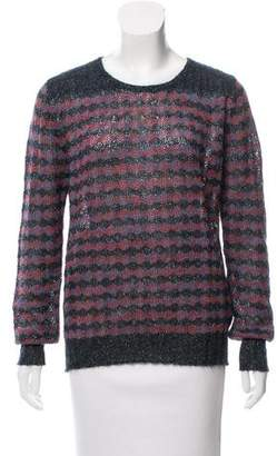 Marc by Marc Jacobs Metallic Knit Sweater w/ Tags