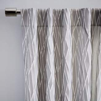 west elm Crackled Glass Curtain