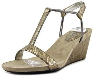 Style&Co. Style & Co. Style & Co Mulan Women US 10 Nude Wedge Sandal