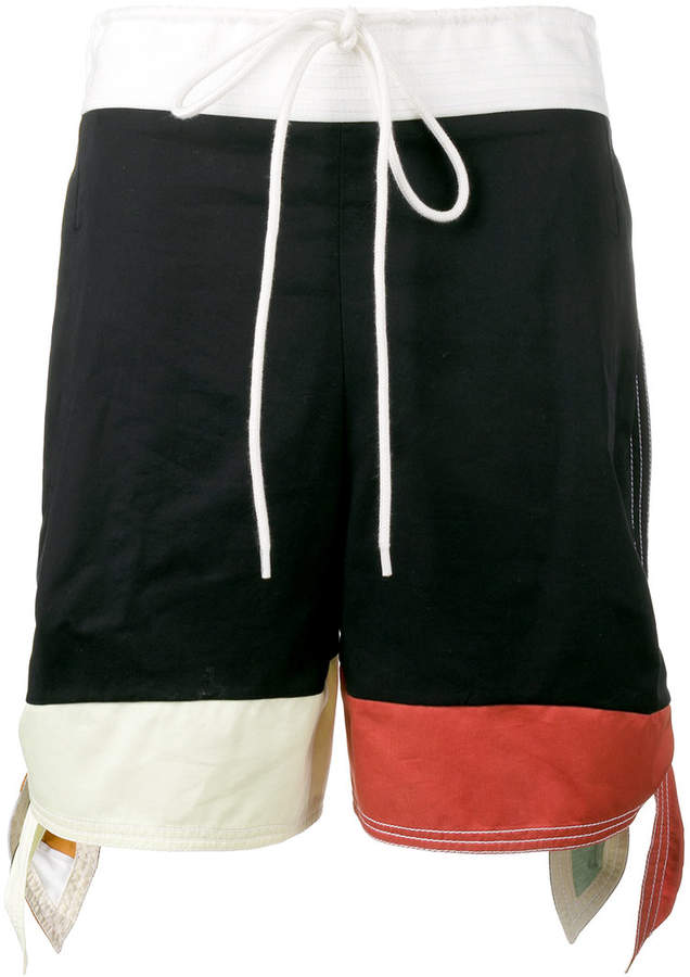 Shorts in Colour-Block-Optik