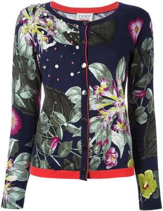 Twin-Set embellished floral cardigan $181.82 thestylecure.com