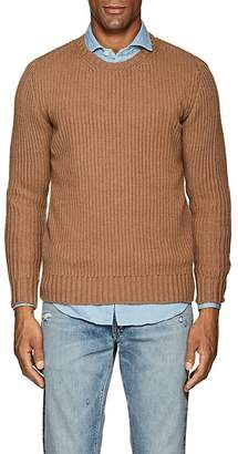 Eleventy Men's Rib-Knit Cashmere Sweater