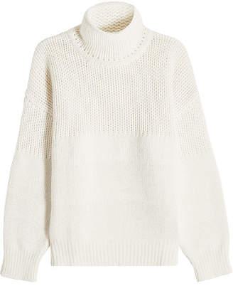 Jil Sander Pullover in Fleece Wool and Angora