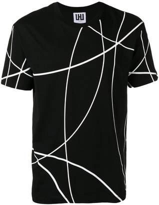 Les Hommes Urban scribble print T-shirt