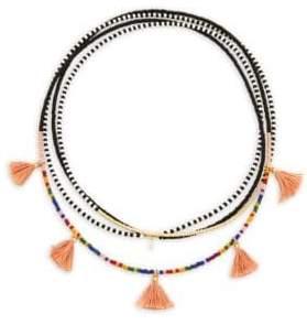 Shashi Delilah Multi-Layered Beaded Necklace
