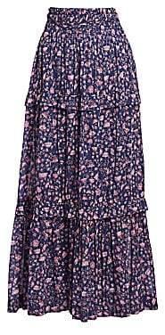 Etoile Isabel Marant Women's Lineka Floral Maxi Skirt