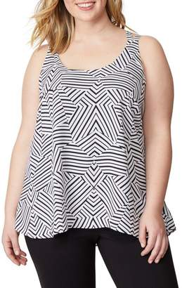 Wilson Rebel X Angels Cross Strap Tank (Plus Size)